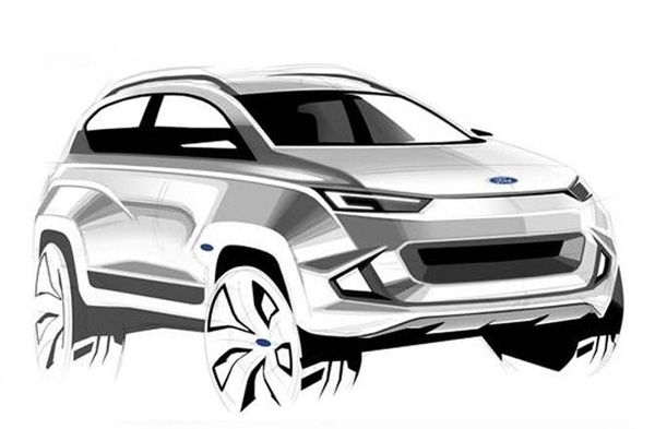 Ford Mach 1 crossover will be shown in 2020
