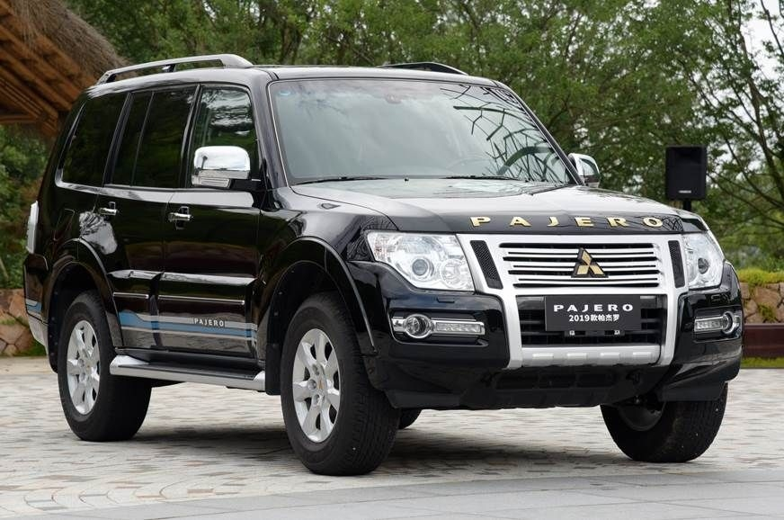 Another facelift for Mitsubishi's Montero (Pajero)