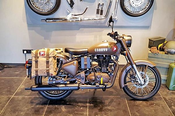All units of the Royal Enfield Classic 500 Pegasus sold in 178 seconds