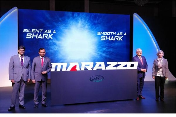 Mahindra's U321 MPV to be called the Marazzo