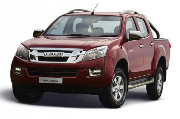 Isuzu D-Max range more expensive.