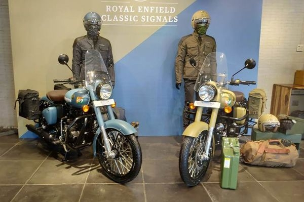 Royal Enfield launches Classic Signals 350 ABS
