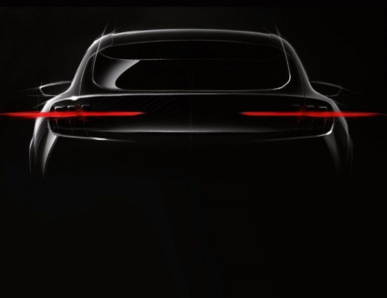 Ford Mach 1 electric SUV image teased