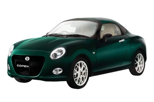 Daihatsu Copen Coupe Revealed In Japan