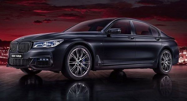 BMW 7-Series Black Fire Edition For China Unveiled