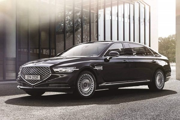 Genesis G90 Limousine Launched In Korea
