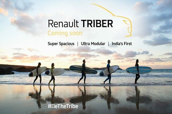 Renault Discloses Unveil Date for Upcoming Triber MPV in Indian Market