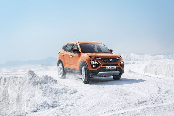 Tata Harrier Dual Tone Spotted on Video, Aftermarket Job or Official Variant?