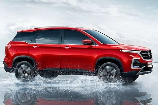 6- Seater MG Hector To be Launched With a Different Name