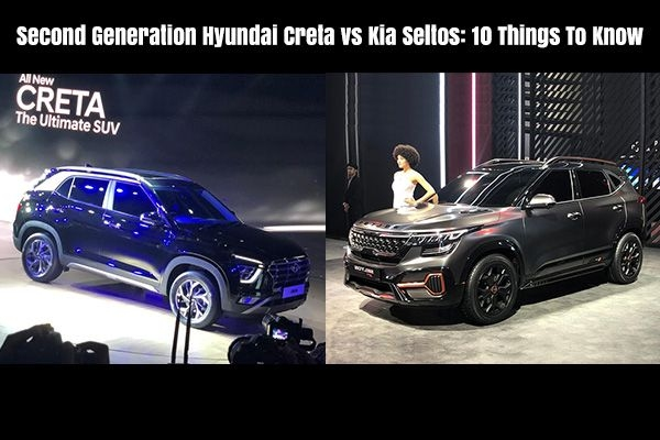 Second Generation Hyundai Creta vs Kia Seltos: Comparison
