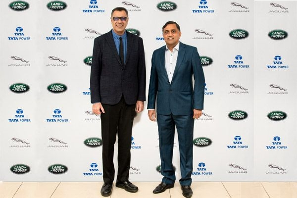 JLR And Tata Power Join Hands For Creating EV Infrastructure