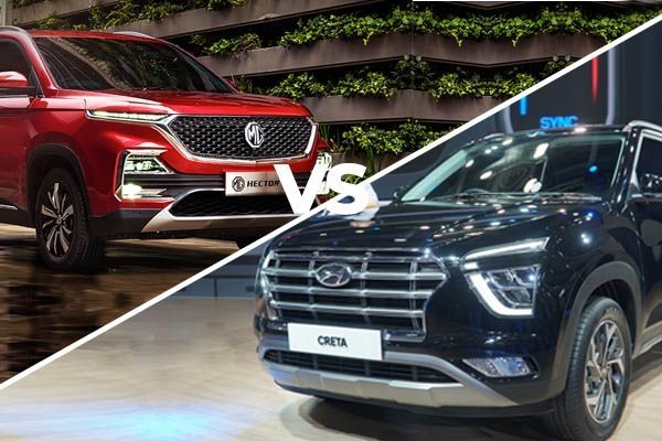 Next-Generation Hyundai Creta vs MG Hector - Price, Features and Specification