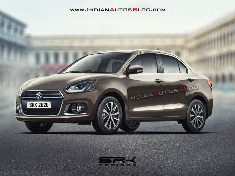2020 Maruti DZire Facelift Rendered Ahead of Launch