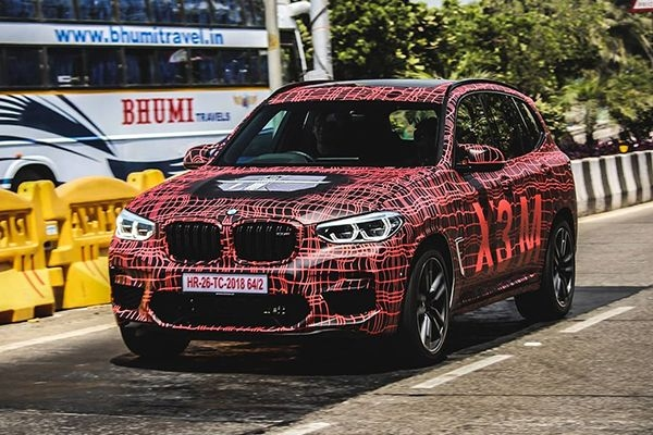 BMW X3M Spied Testing Ahead of its Official Launch in India