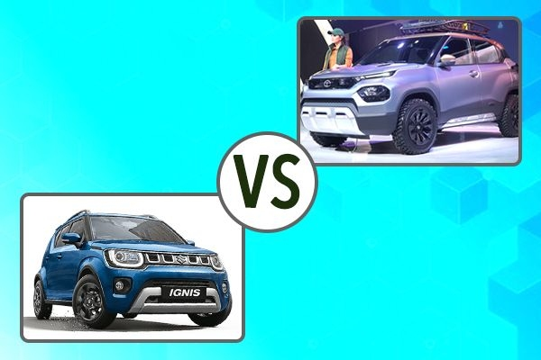Tata HBX vs Maruti Ignis - Detailed Comparison