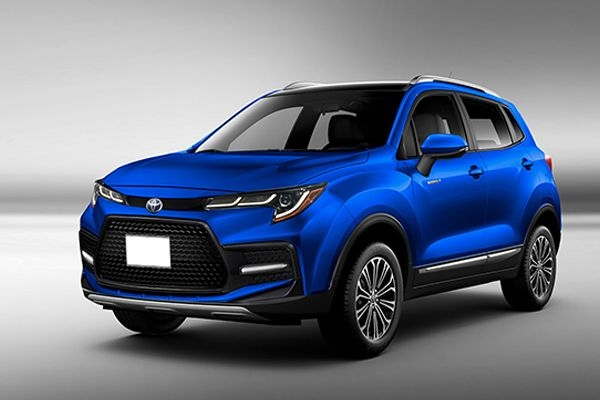 All-New Toyota Corolla Cross SUV Digitally Rendered