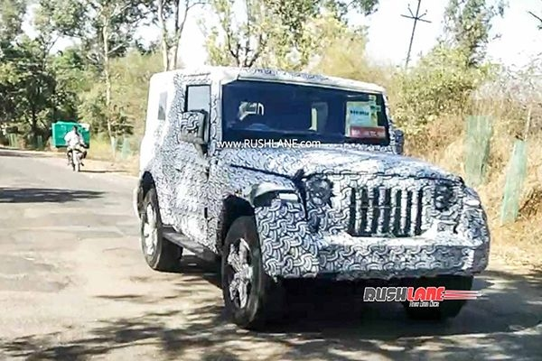 Partial Lockdown: 2020 Mahindra Thar Spied Testing Again in India