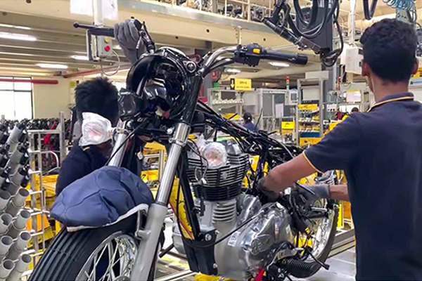 Checkout How Royal Enfield Motorcycles are Manufactured in India