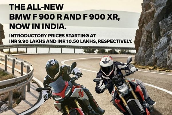 BMW F900 R and F900 XR Launched in India