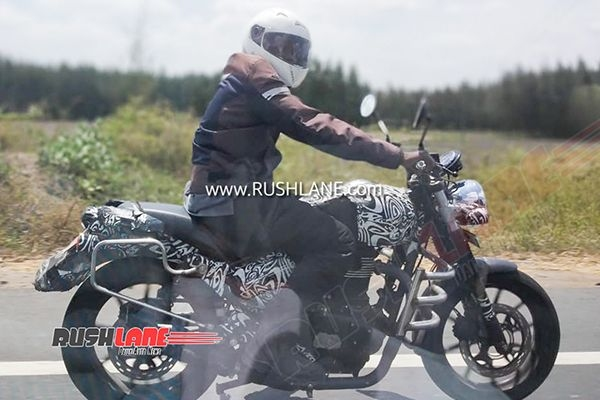 All-New Royal Enfield Hunter 350 Spied Testing