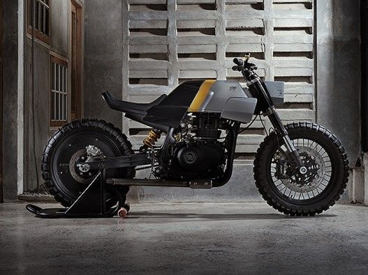 Royal Enfield Himalayan Tracker Modified