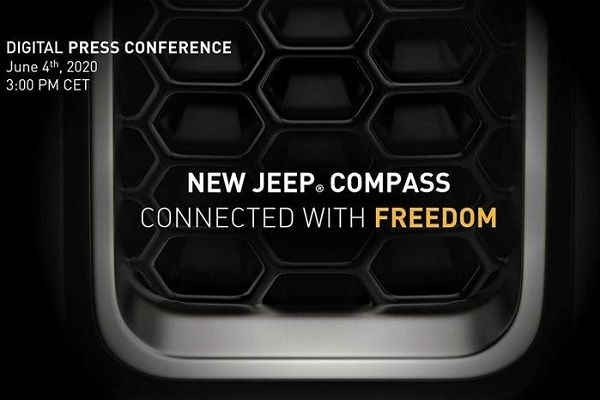 2020 Jeep Compass Facelift World Premiere on June 4