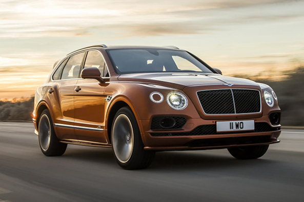 Bentley Bentayga 20,000th