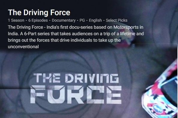 The Driving Force Released on Hotstar