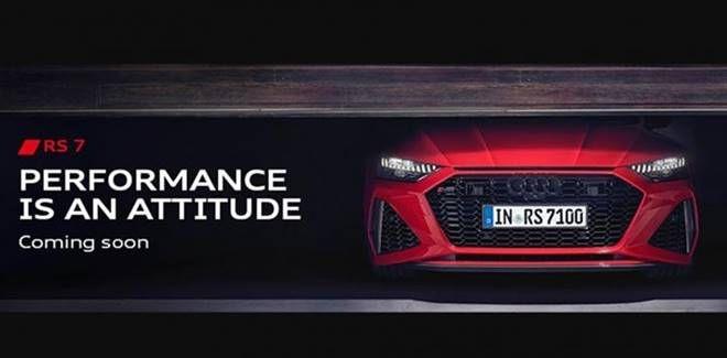 New Audi RS7 Launching in July 2020