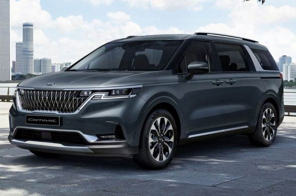 New-Gen Kia Carnival Unveiled ; Clear Images Inside