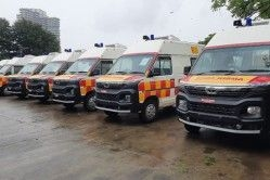New Tata Winger Converted into Ambulance for COVID-19 Relief Work