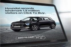 Hyundai's 'Click to Buy' Online Sales Channel Records 15 Lakh Visits
