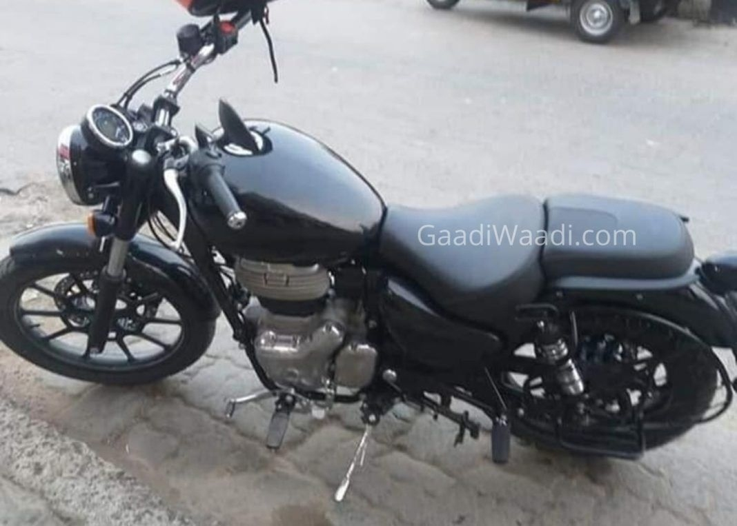 Royal Enfield Meteor 350 Production-Ready Version Spotted
