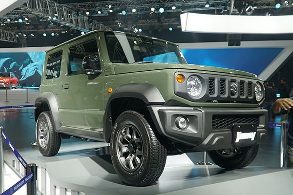Maruti Suzuki Jimny Imported in India as CKD