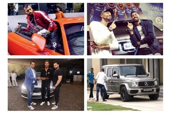 Cricketer Hardik Pandya Car Collection; From Lamborghini to Mercedes Benz