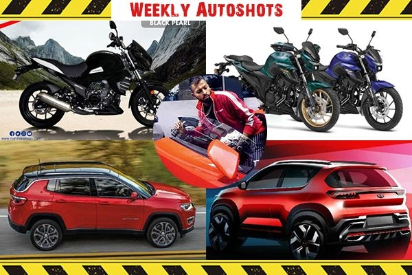 Weekly Autoshot - BS6 Yamaha FZ25 and FZS 25, Mahindra Mojo 300 BS6, Jeep Compass Night Eagle Edition Launch