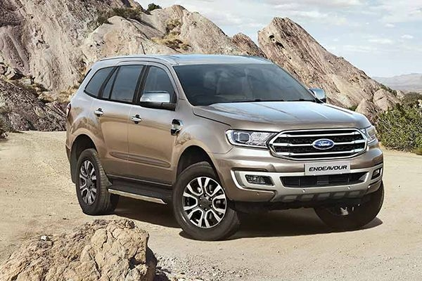 BS6 Ford Endeavour Price Increased by up to Rs 1.20 Lakh