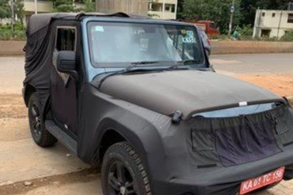 2020 Mahindra Thar Interior Images Leaked