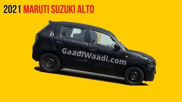 Next-Generation Maruti Suzuki Alto Spied Ahead of Launch