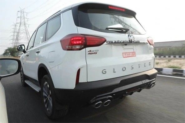 MG Gloster SUV Back