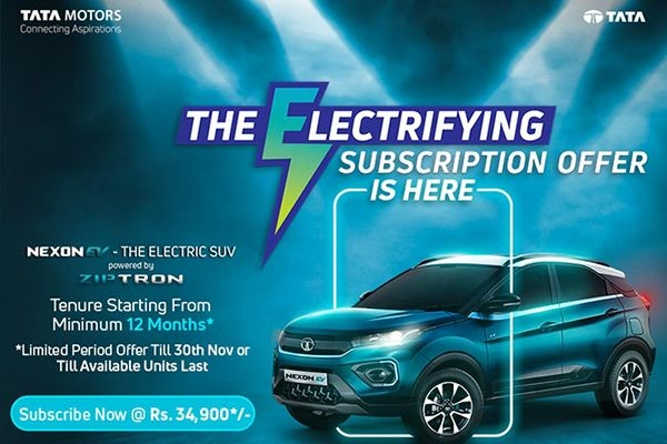 Tata Nexon EV Subscription Plan Available at Rs 34,900