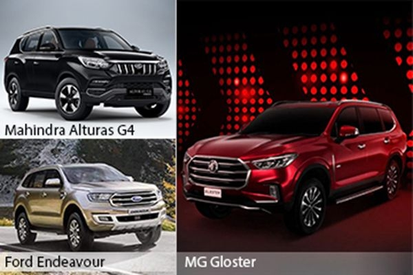 MG Gloster vs Ford Endeavour vs Mahindra Alturas G4: Detailed Comparison