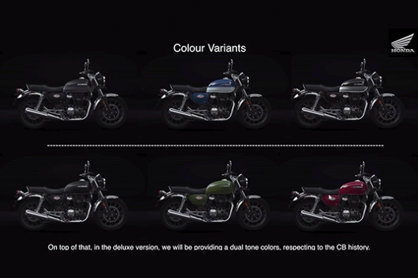 Honda Highness CB350 Colors