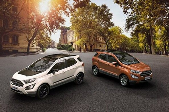 Ford EcoSport Upper View