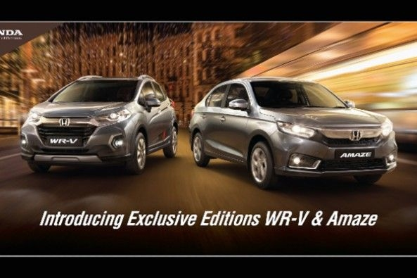 Honda Amaze and WR-V Exclusive Editions