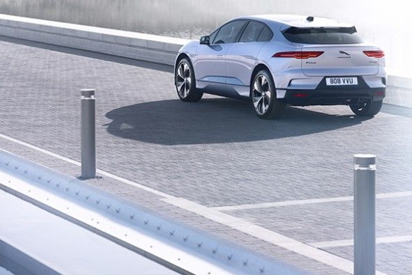 Jaguar I Pace Back