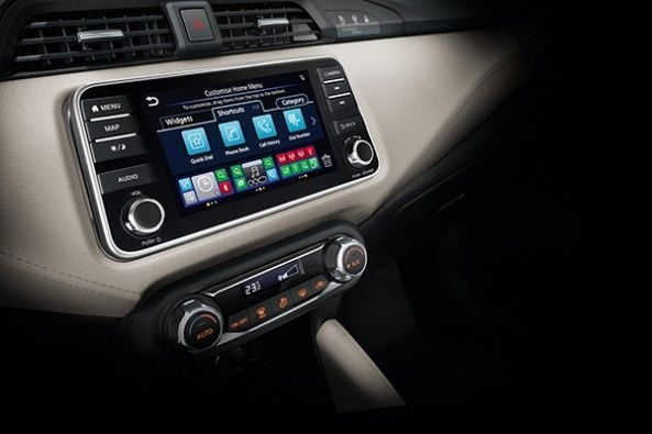 2021 Nissan Micra Facelift Android Car Play