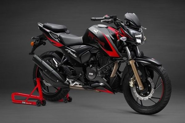 2021 TVS Apache RTR 200 4V Attracts 2 Weeks Waiting Period