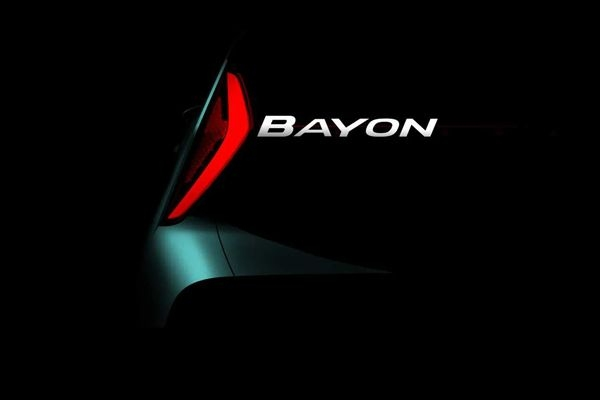 Hyundai Teases New Compact Crossover; to be called Bayon