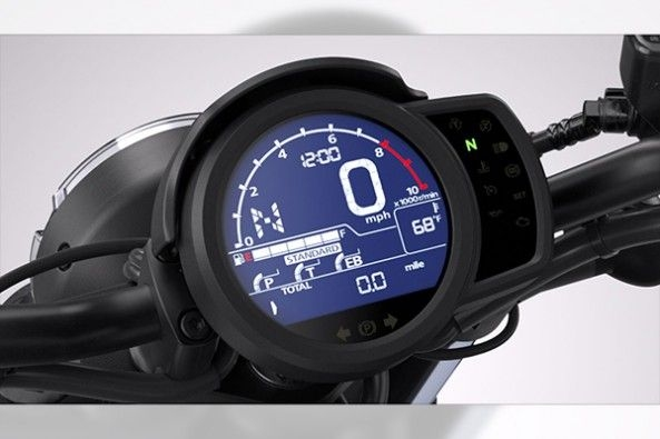 2021 Honda Rebel 1100 Speedometer